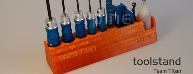 Tool Stand for Team Titan tools