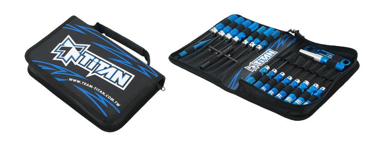 TiTAN Tool Bag with Tool Set